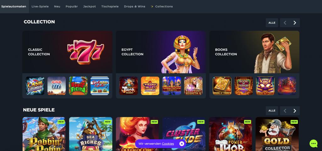 GSlot Casino Spieleangebot